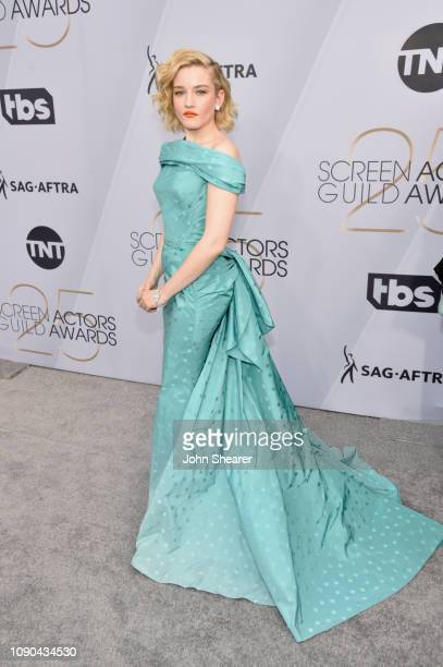 Julia Garner attends the 25th Annual Screen ActorsGuild Awards at The Shrine Auditorium on January 27 2019 in Los Angeles California