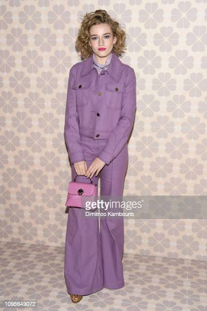 Julia Garner attends the Kate Spade Fashion Show during New York Fashion Week at Cipriani 25 Broadway on February 8 2019 in New York City