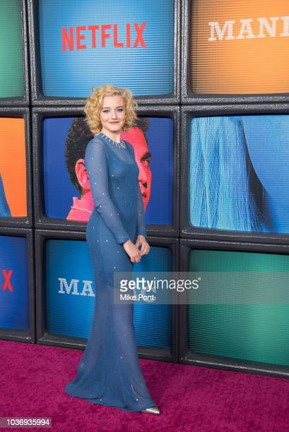 Julia Garner attends the 'Maniac' season 1 New York premiere at Center 415 on September 20 2018 in New York City