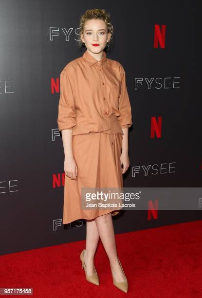 Julia Garner attends the Netflix #FYSee 'Scene Stealers' on May 10 2018 in Hollywood California
