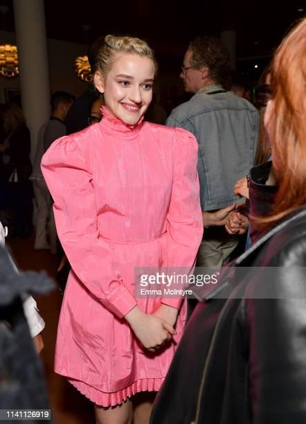 Julia Garner attends the Netflix Ozark screening reception at the Linwood Dunn Theater on April 07 2019 in Los Angeles California