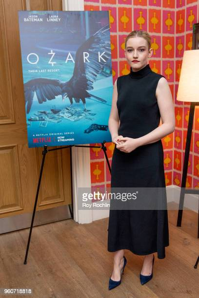 Julia Garner attends the Ozark FYC Screening and Panel at Crosby Street Hotel on May 20 2018 in New York City