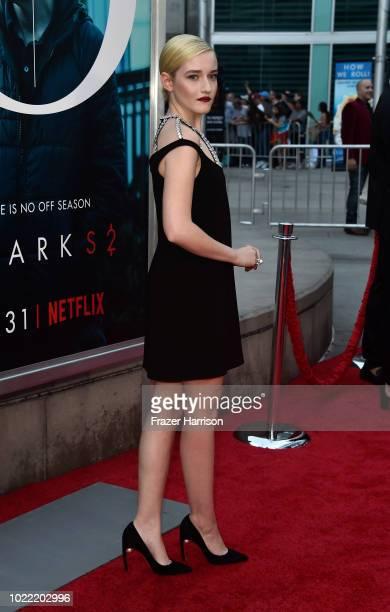 Julia Garner attends the Premiere Of Netflix's Ozark Season 2 at ArcLight Cinemas on August 23 2018 in Hollywood California
