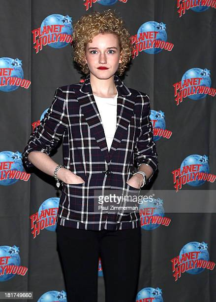 Julia Garner attends We Are What We Are at Planet Hollywood Times Square on September 24 2013 in New York City