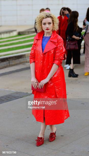 Julia Garner is seen in brooklyn on June 4 2018 in New York City