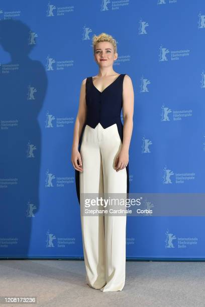 """Julia Garner poses at the """"The Assistant"""" photo call during the 70th Berlinale International Film Festival Berlin at Grand Hyatt Hotel on February..."""