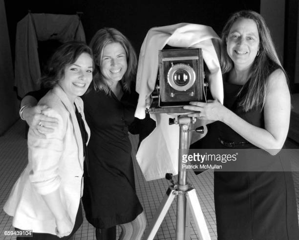 Julia Gartland Amy Jackson and Jill Enfield attend UPWARDLY GLOBAL Passport to Possibilities Benefit on Ellis Island at Ellis Island on September 26...