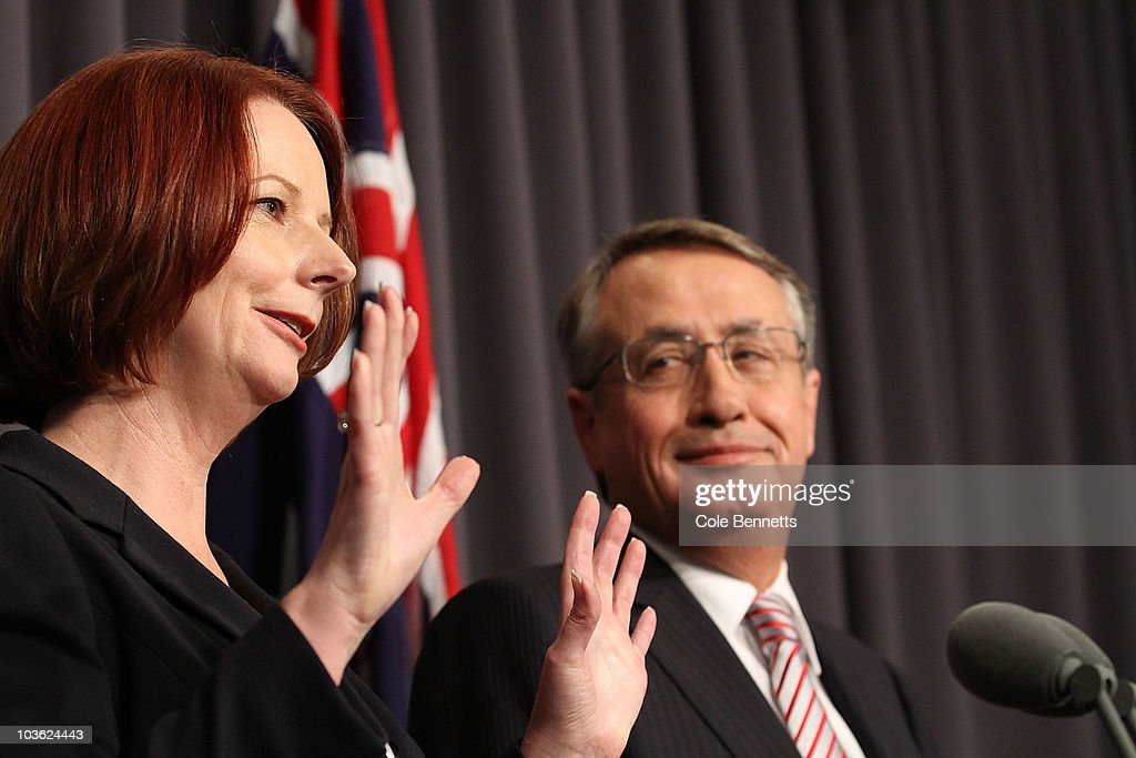 Julia Gillard Delivers Hung Parliament Update