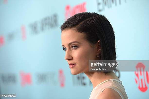 Julia Goldani Telles attends a screening for Showtime's The Affair at the Samuel Goldwyn Theater on May 6 2015 in Beverly Hills California