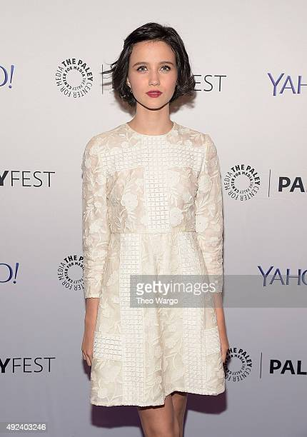 Julia Goldani Telles attends PaleyFest New York 2015 'The Affair'at The Paley Center for Media on October 12 2015 in New York City