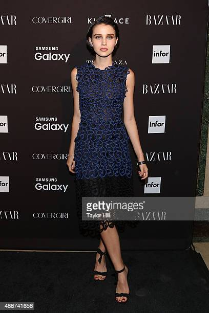 Julia Goldani Telles attends the 2015 Harper ICONS Party at The Plaza Hotel on September 16 2015 in New York City