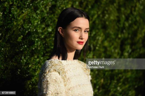 Julia Goldani Telles attends the CHANEL Tribeca Film Festival Artists Dinner at Balthazar on April 24 2017 in New York City