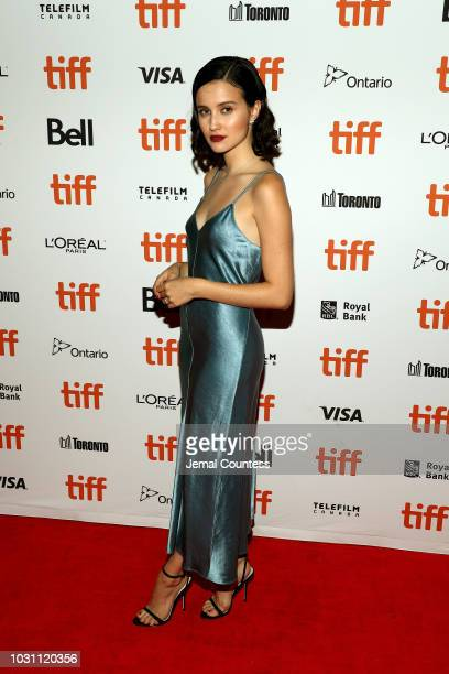Julia Goldani Telles attends the The Wind premiere during 2018 Toronto International Film Festival at Ryerson Theatre on September 10 2018 in Toronto...