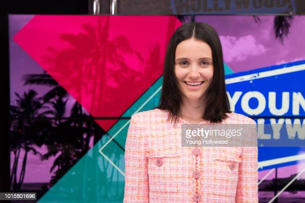 Julia GoldaniTelles visits the Young Hollywood Studio on August 8 2018 in Los Angeles California