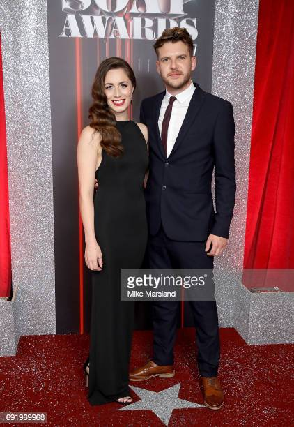 Julia Goulding and guest attend The British Soap Awards at The Lowry Theatre on June 3 2017 in Manchester England The Soap Awards will be aired on...