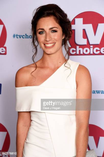 Julia Goulding arrives at the TV Choice Awards at The Dorchester on September 4 2017 in London England