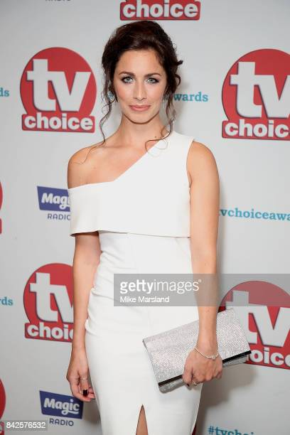 Julia Goulding arrives for the TV Choice Awards at The Dorchester on September 4 2017 in London England