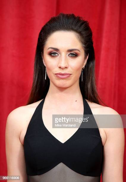 Julia Goulding attends the British Soap Awards 2018 at Hackney Empire on June 2 2018 in London England
