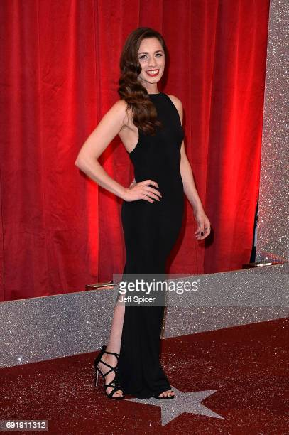 Julia Goulding attends The British Soap Awards at The Lowry Theatre on June 3 2017 in Manchester England The Soap Awards will be aired on June 6 on...