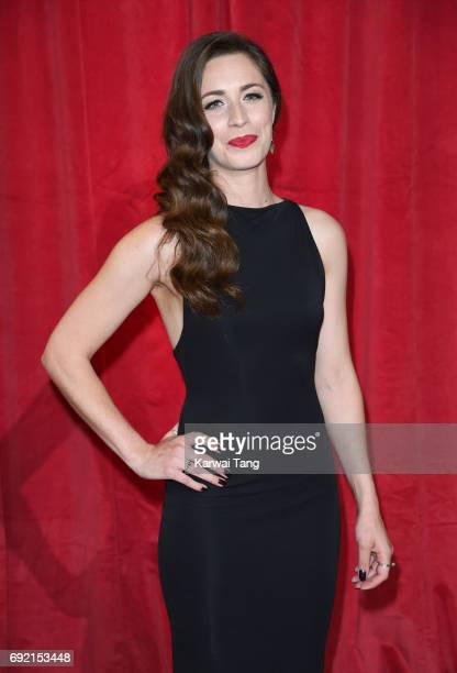 Julia Goulding attends the British Soap Awards at The Lowry Theatre on June 3 2017 in Manchester England