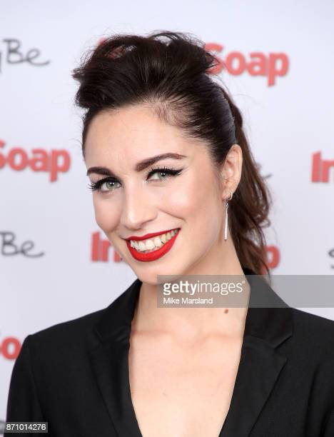 Julia Goulding attends the Inside Soap Awards held at The Hippodrome on November 6 2017 in London England