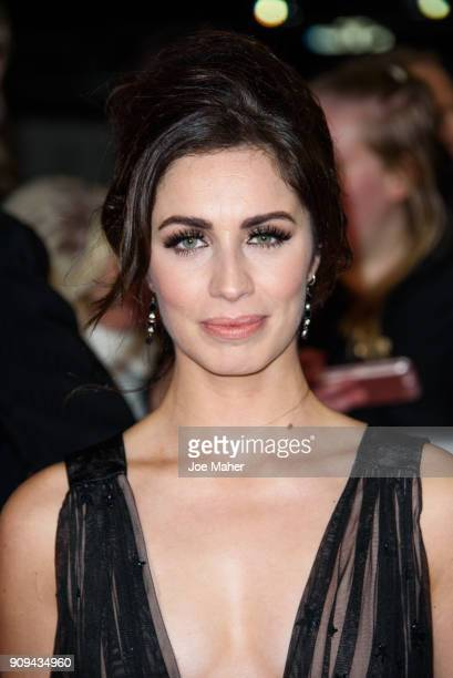Julia Goulding attends the National Television Awards 2018 at The O2 Arena on January 23 2018 in London England