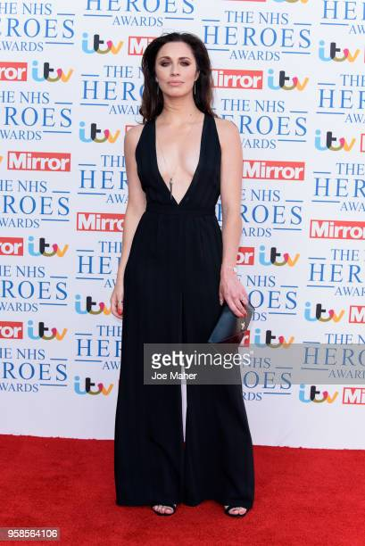 Julia Goulding attends the 'NHS Heroes Awards' held at the Hilton Park Lane on May 14 2018 in London England