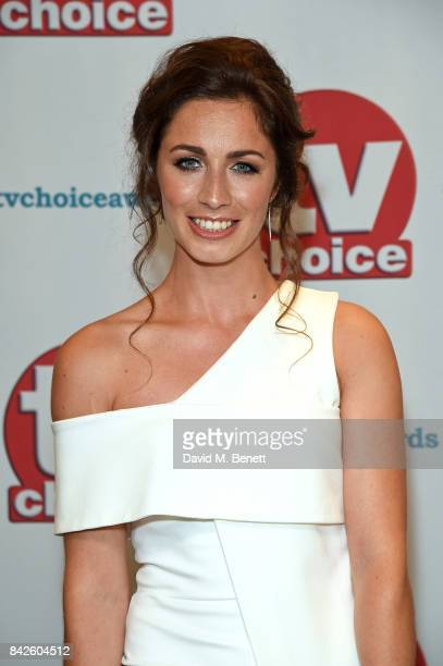 Julia Goulding attends the TV Choice Awards at The Dorchester on September 4 2017 in London England