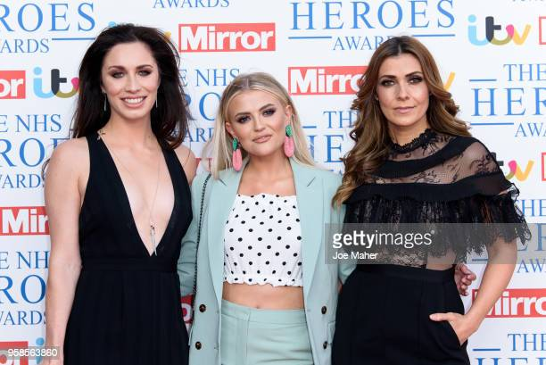 Julia Goulding Lucy Fallon and Kym Marsh attend the 'NHS Heroes Awards' held at the Hilton Park Lane on May 14 2018 in London England