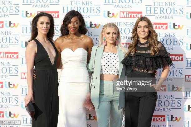 Julia Goulding Victoria Ekanoye Lucy Fallon and Kym Marsh attend the 'NHS Heroes Awards' held at the Hilton Park Lane on May 14 2018 in London England