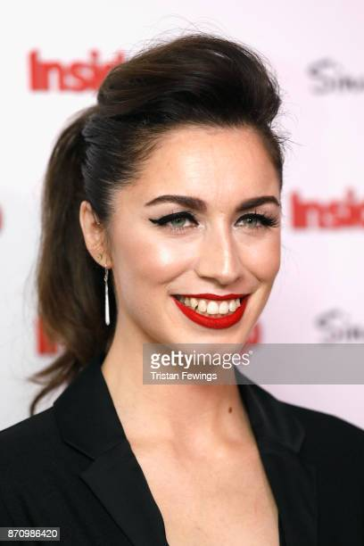 Julia Goulding winner of the award for Best Newcomer attends the Inside Soap Awards held at The Hippodrome on November 6 2017 in London England