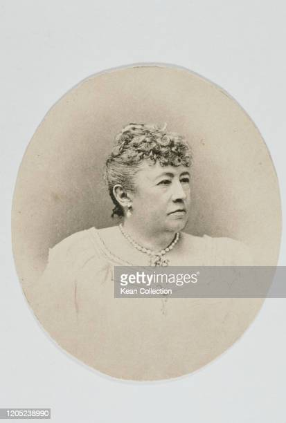 Julia Grant the First Lady of the United States circa 1890