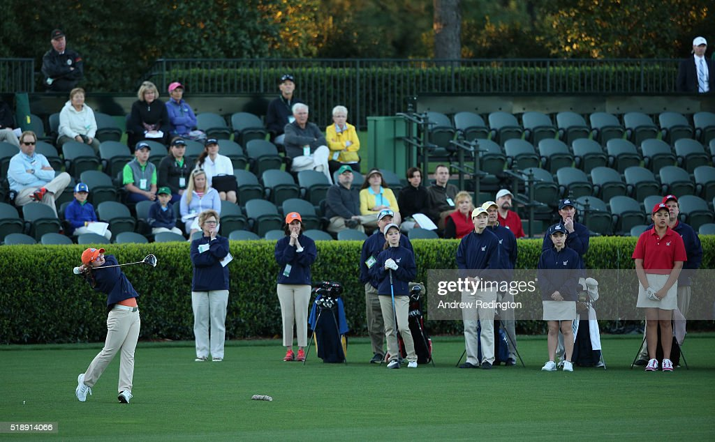 Drive, Chip and Putt Championship at Augusta National Golf Club : News Photo