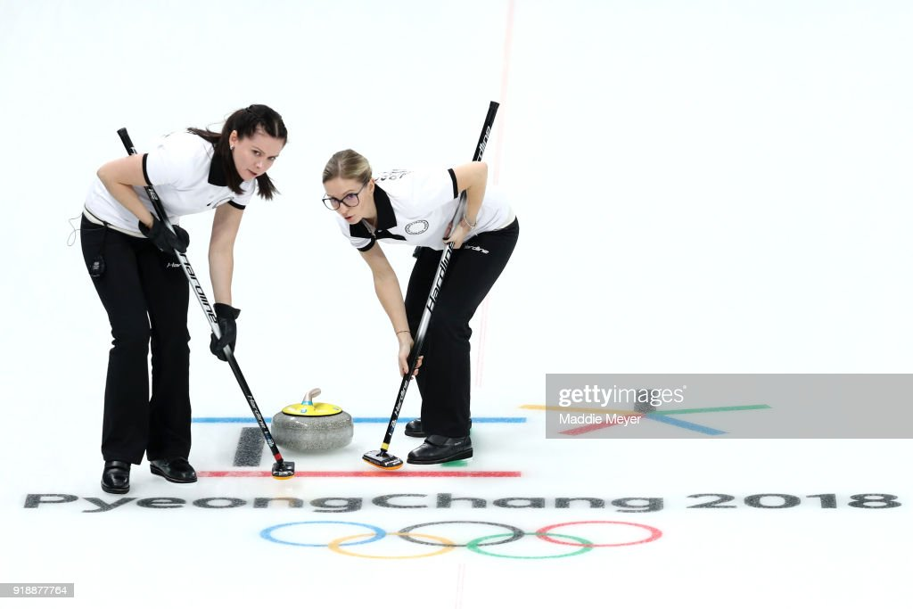 Curling - Winter Olympics Day 7