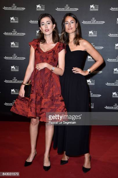 Julia Haghjoo and Sylvia Haghjoo arrive for the JaegerLeCoultre Gala Dinner during the 74th Venice International Film Festival at Arsenale on...