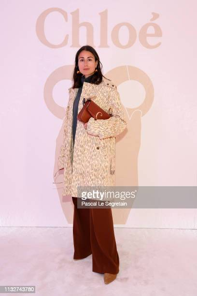 Julia Haghjoo attends the Chloe show as part of the Paris Fashion Week Womenswear Fall/Winter 2019/2020 on February 28 2019 in Paris France