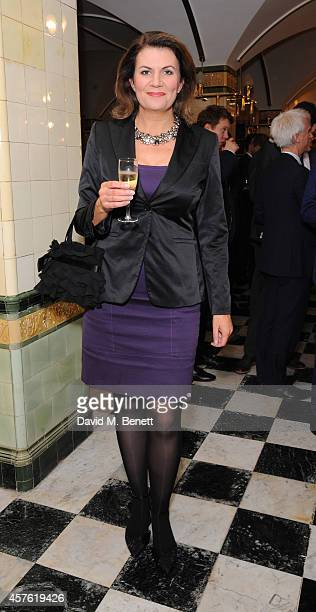 Julia Hartley Brewer attends The Guido Awards at The Institute of Directors on October 21 2014 in London England