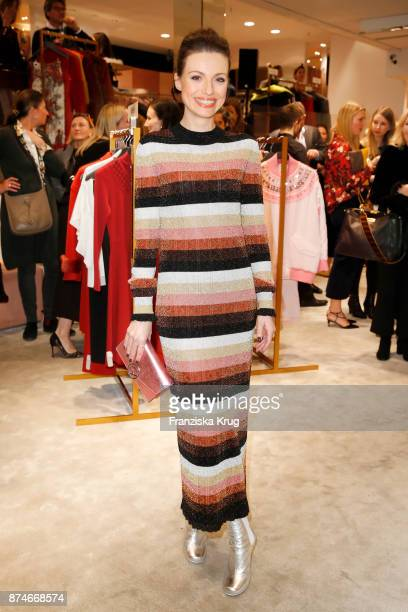 Julia Hartmann attends the Fendi x mytheresacom Event on November 15 2017 in Munich Germany