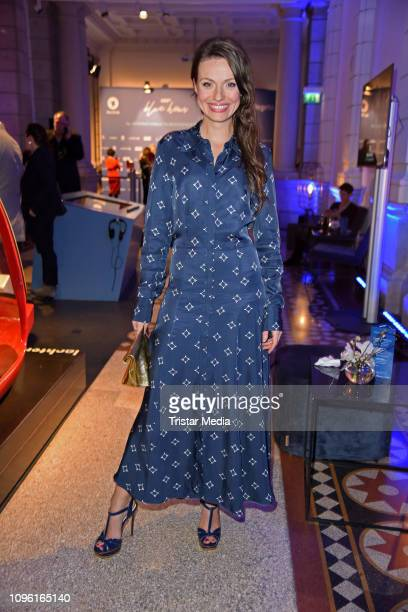 Julia Hartmann during the Blue Hour Party hosted by ARD during the 69th Berlinale International Film Festival at Haus der Kommunikation on February 8...