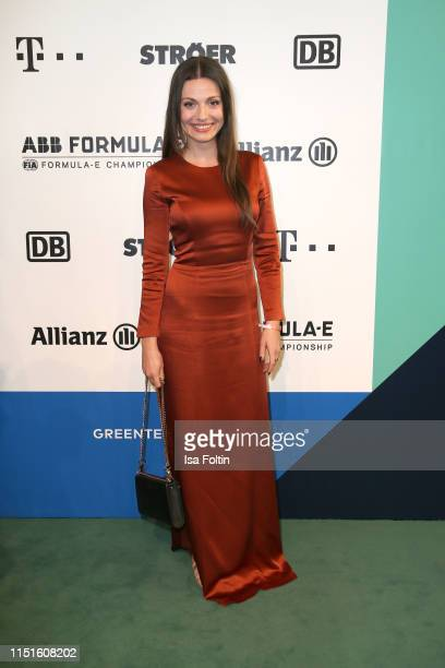Julia Hartmann during the Green Award as part of the Greentech Festival at Tempelhof Airport on May 24 2019 in Berlin Germany The Greentech Festival...