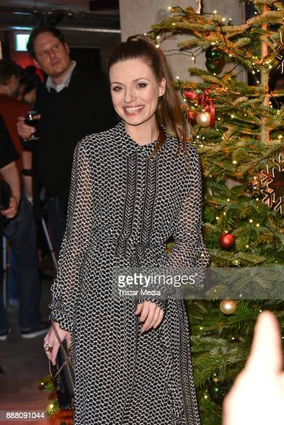 Julia Hartmann during the Medienboard PreChristmas Party at Schwuz at Saeaelchen on December 7 2017 in Berlin Germany