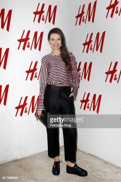 Julia Hartmann wearing HM during the Inter/VIEW X HM Party on February 13 2018 in Berlin Germany