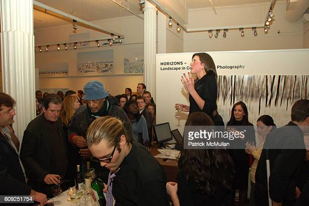 Julia Heinemann attends Grand Opening of the LUMAS Editions Gallery at 77 Wooster St on February 22, 2007 in New York, NY.