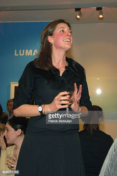 Julia Heinemann attends Grand Opening of the LUMAS Editions Gallery at 77 Wooster St on February 22 2007 in New York NY