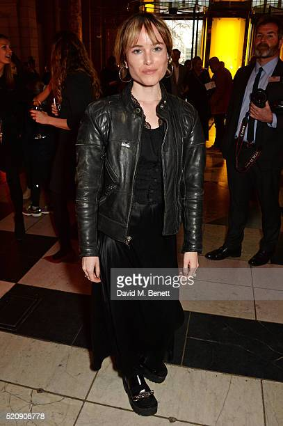 Julia Hobbs attends a private view of new exhibition Undressed A Brief History Of Underwear at The VA on April 13 2016 in London England