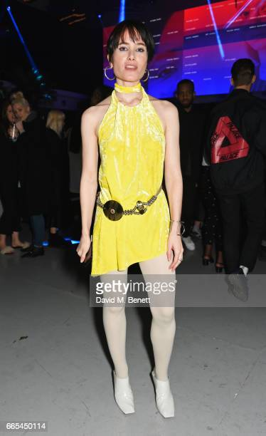 Julia Hobbs attends as Dazed ck one celebrate the launch of the Dazed 100 at 180 The Strand on April 6 2017 in London England