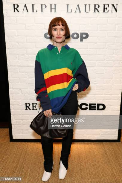 "Julia Hobbs attends as Ralph Lauren and Depop celebrate the launch of ""Re/Sourced"" on October 24, 2019 in London, England."