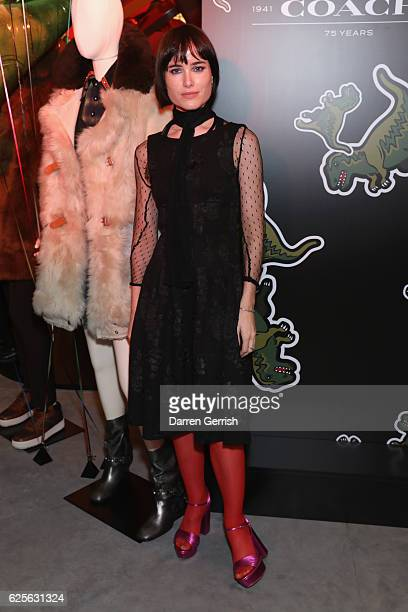 Julia Hobbs attends Coach House Regent Street Launch Party on November 24 2016 in London England