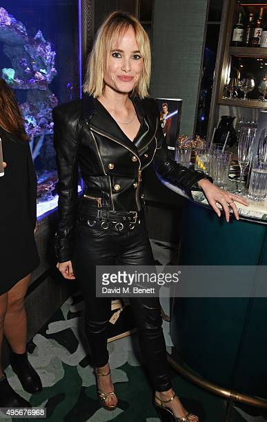 Julia Hobbs attends the launch of the new Matchless Star Wars collection at Sexy Fish on November 4 2015 in London England