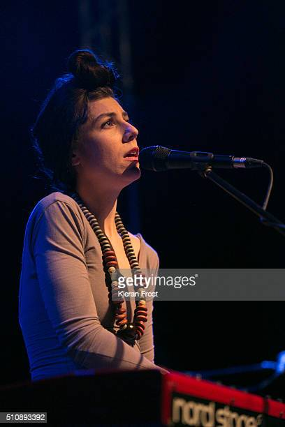 Julia Holter performs at the Button Factory on February 17, 2016 in Dublin, Ireland.